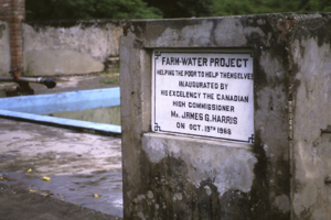The well and farm water project
