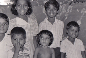 Some of the first Sponsored Children