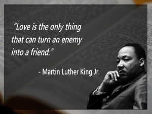 mlk enemy to friend